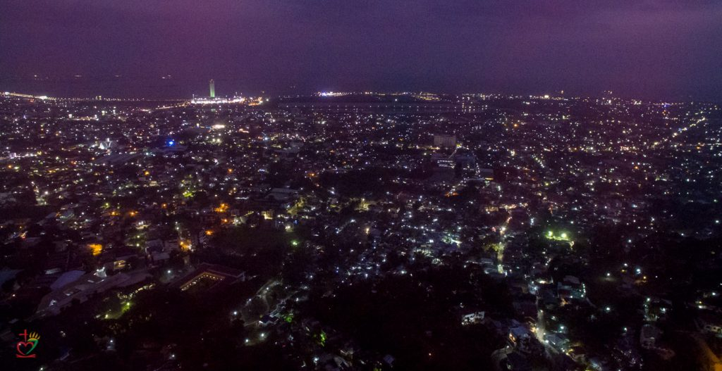 A view of Cebu from THP-1